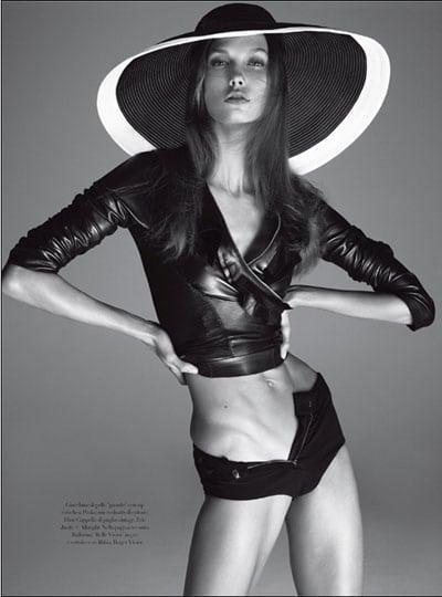 Karlie Kloss dans Vogue Italie : La photo qui fait polémique