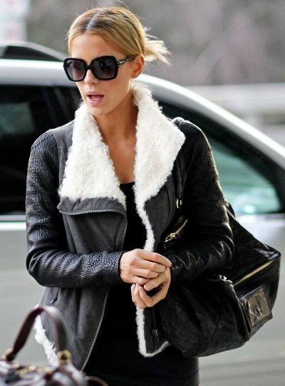 Kate Beckinsale look aviateur