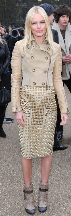 Kate Bosworth- Burberry Prorsum