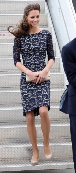 Kate Middleton superbe pour son arrivée au Canada