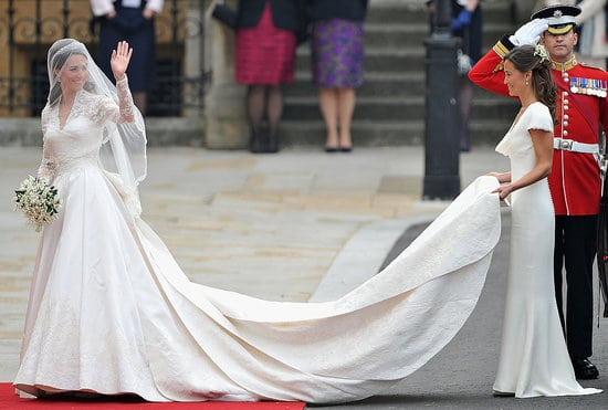 Mariage De Kate Middleton Et William Robe Maquillage Et Coiffure