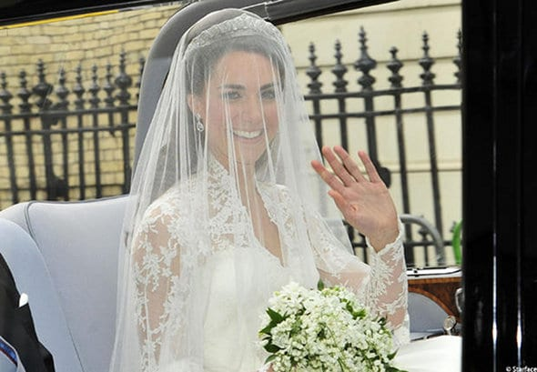 Mariage de Kate Middleton et William : Robe, maquillage et coiffure