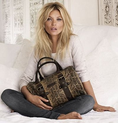 Kate Moss Longchamp 2011