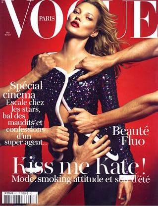 Kate Moss Vogue France mai 2011