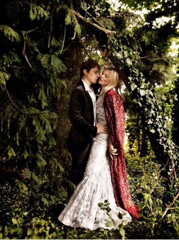 Kate Moss et Jamie Hince mariage