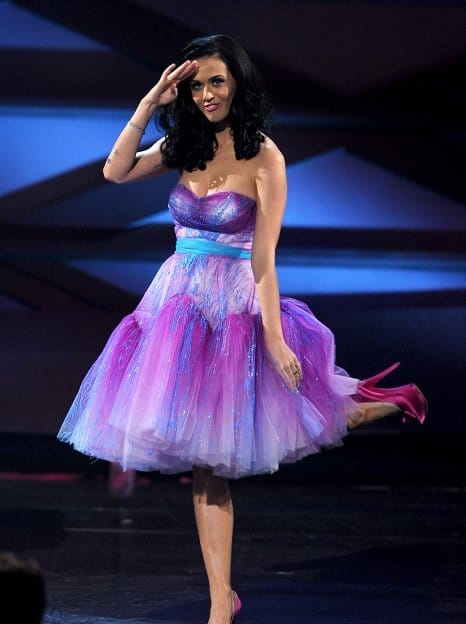 Katy Perry people's choice awards 2011
