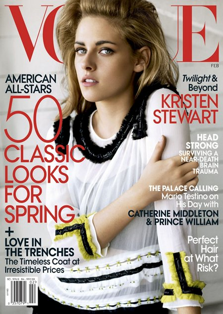 Kristen Stewart by Mario Testino