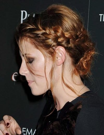Kristen Stewart tresse