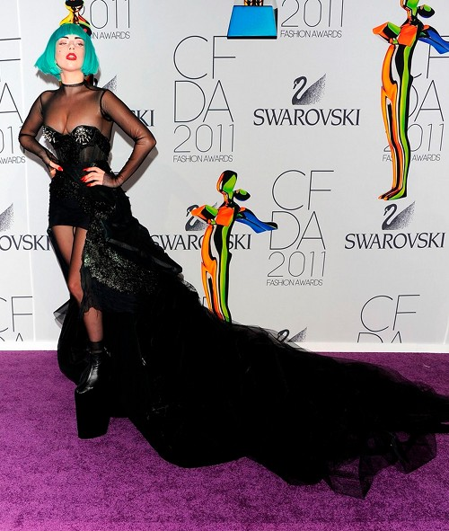 Lady Gaga CFDA Fashion Awards 2011
