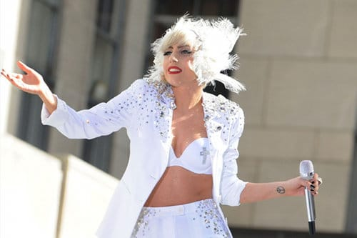 Lady gaga perd son grand père