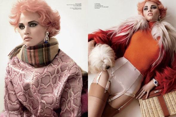 Lara Stone V Magazine