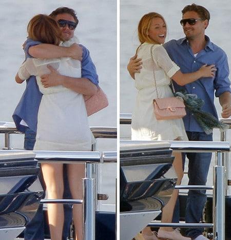 Leonardo DiCaprio & Blake Lively