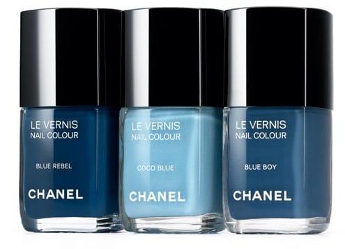 Les jeans de Chanel vernis