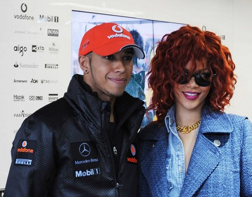Lewis Hamilton & Rihanna