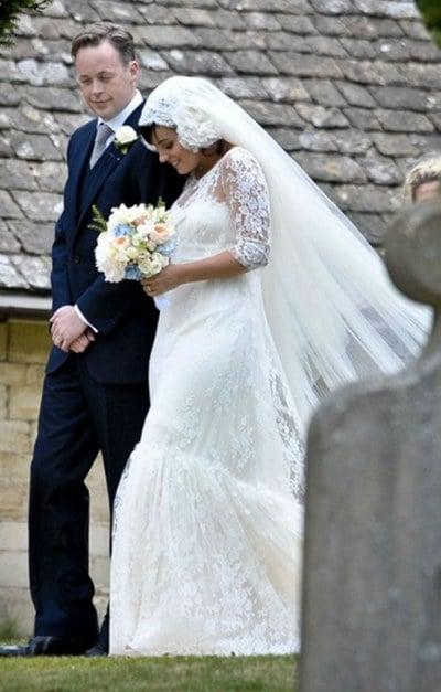 Les premières photos du mariage de Lily Allen