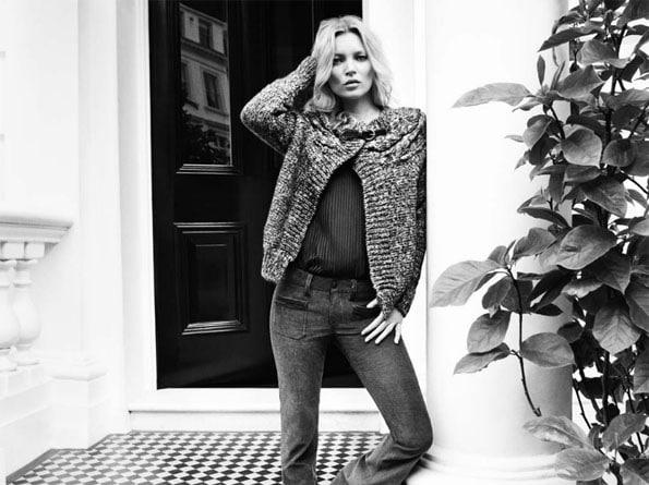 Kate Moss beauté fatale pour Liu Jo automne hiver 2013