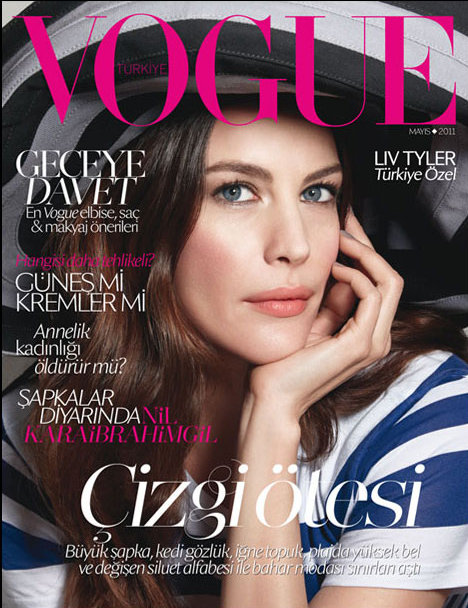 Liv Tyler Vogue Turquie mai 2011