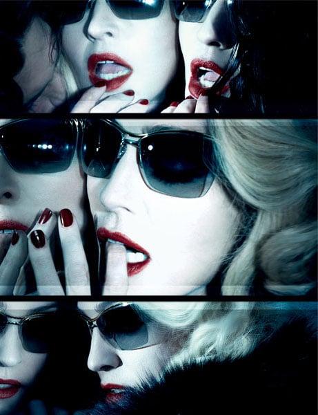 Madonna pour les lunettes de soleil Dolce & Gabbana