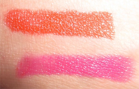 Mac smoething new & neon orange Stylishly yours swatch