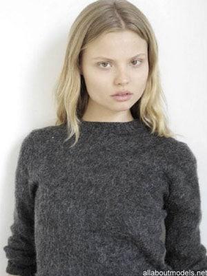 Magdalena Frackowiak sans maquillage
