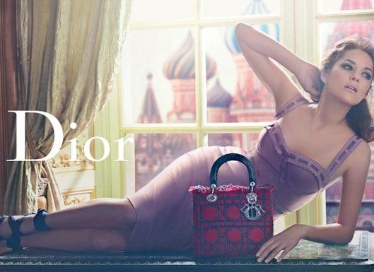 Marion Cotillard pour la nouvelle campagne publicitaire Lady Dior