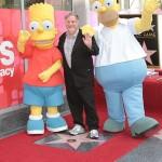 Matt Groening le papa des Simpson honoré d'une étoile sur Hollywood Boulevard