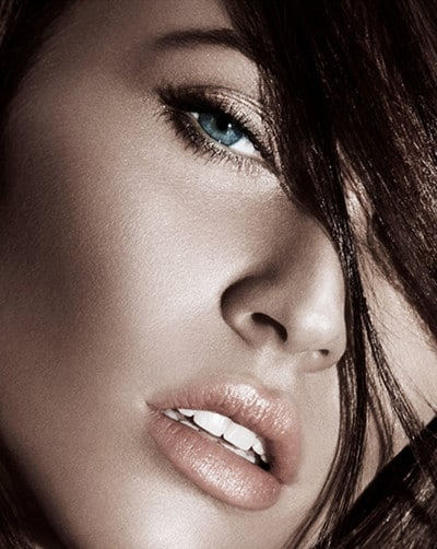 Megan Fox sublime pour la collection maquillage Armani été 2011