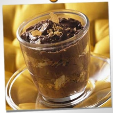 Mousse au chocolat croustillante