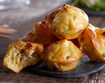 Muffins au thon et courgette