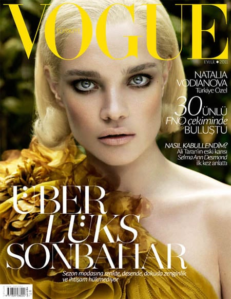 Natalia Vodianova Vogue septembre 2011
