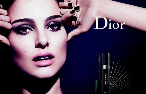 Natalie Portman égérie du nouveau mascara Diorshow New Look