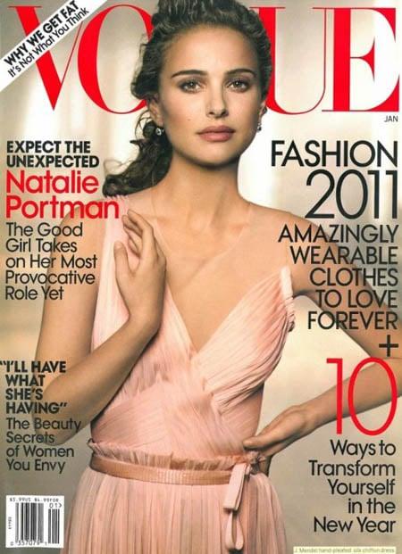 Natalie Portman Vogue US Janvier 2011