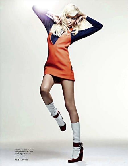 Natasha Poly Vogue Russie septembre 2011