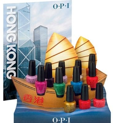 Hong Kong, la nouvelle collection de vernis OPI