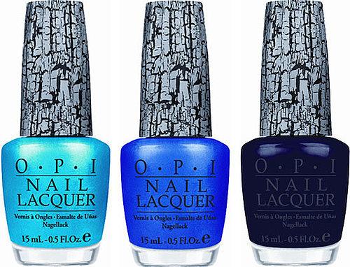 OPI shattered bleus