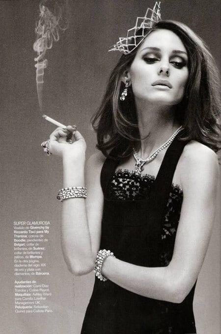 Olivia Palermo dans le Vogue Espagne janvier 2011