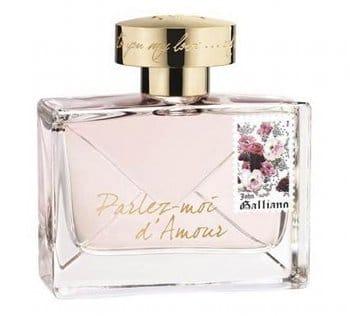 Parfum parlez moi d'amour John Galliano