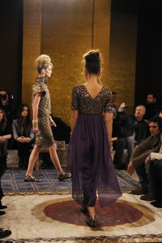 Chanel collection Paris-Byzance : Les photos du défilé