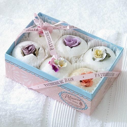 Des cupcakes pour le bain avec les Patisseries de bain Bath Melts
