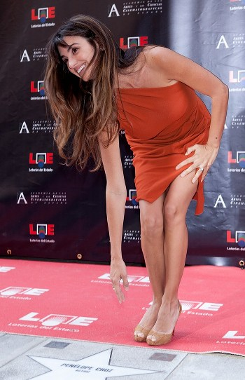 Penelope Cruz obtient son étoile sur le Walk of Fame à Hollywood