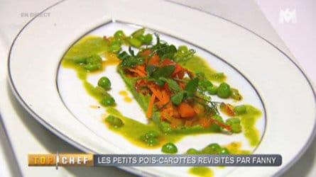 Petits pois:carottes par Fanny