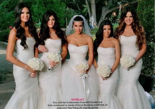 les photos du mariage de kim kardashian enfin d u00e9voil u00e9es