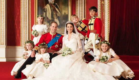 Photos officielles Mariage Kate et William