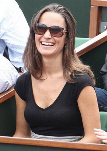 Pippa Middleton discrète à Roland-Garros