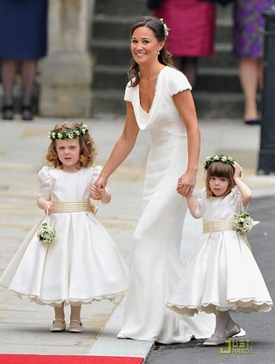 Le look de Pippa Middleton au mariage de William et Kate