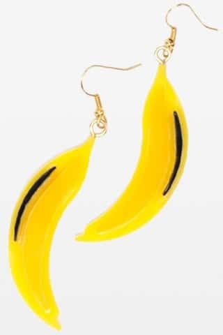 Prada boucles d'oreilles banane