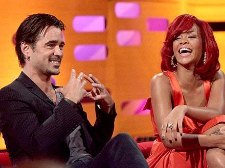 Rihanna Colin Farell