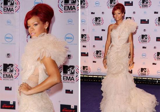 Rihanna aux MTV EMA 2010
