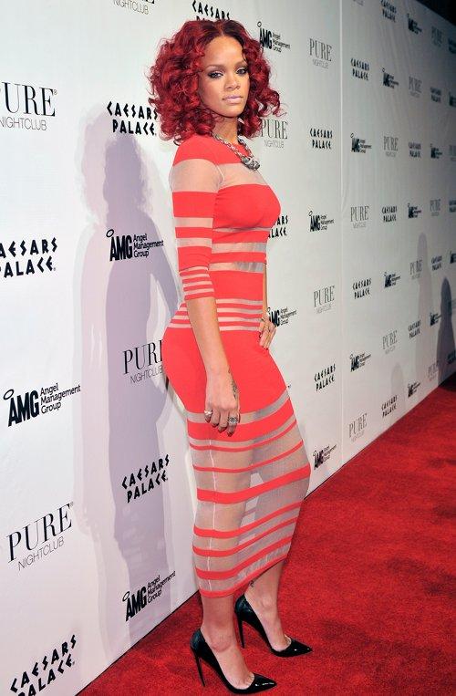 Rihanna au Pure Nightclub de Las Vegas