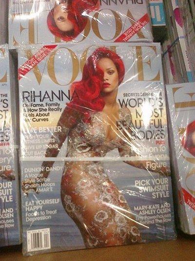 Rihanna Vogue avril 2011